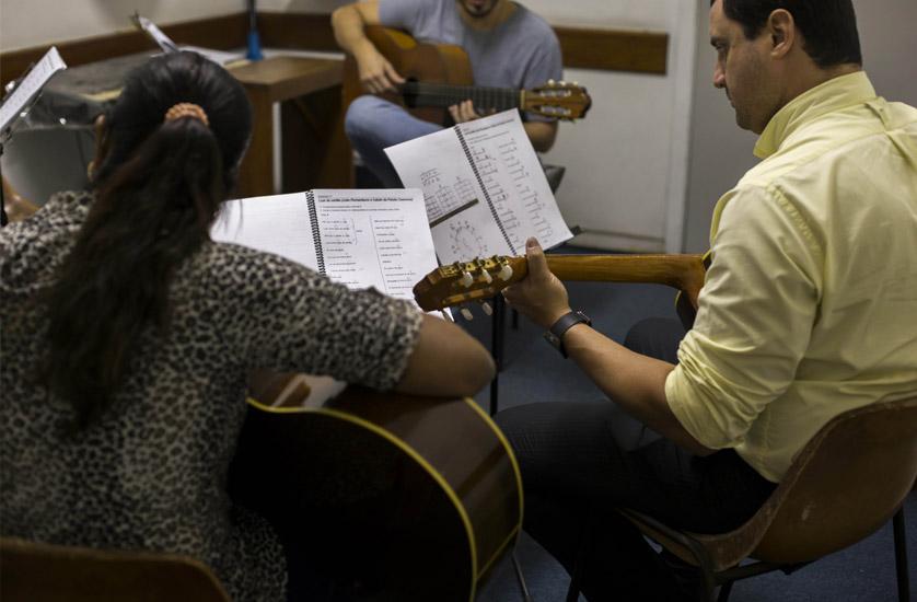 Curso de Violão no CIGAM
