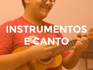 Curso de Instrumentos e Canto no CIGAM